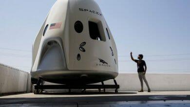 חללית SpaceX קנאביס
