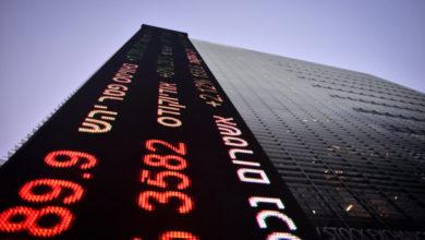 ירידות בבורסה (צילום: אדם שולדמן, פלאש90)