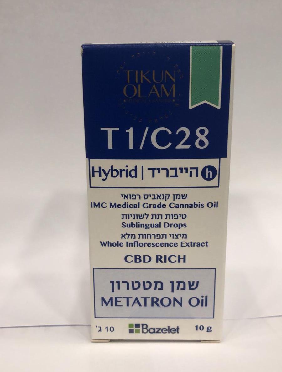 שמן מטטרון T1/C28