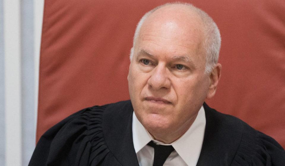 השופט עוזי פוגלמן (צילום: יונתן סינדל, פלאש90)