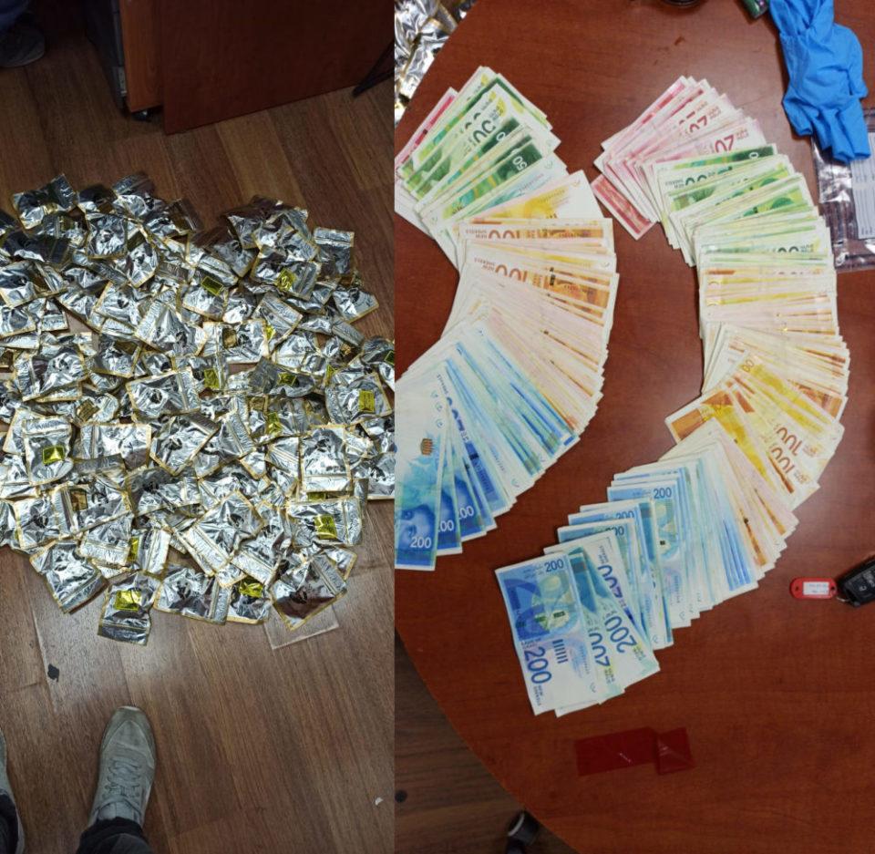 שלל קנאביס וכסף מזומן אצל סוחר בירושלים