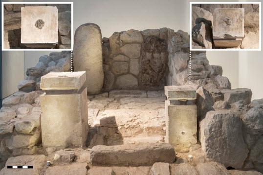 שרידי קנאביס במקד תל ערד ישראל
