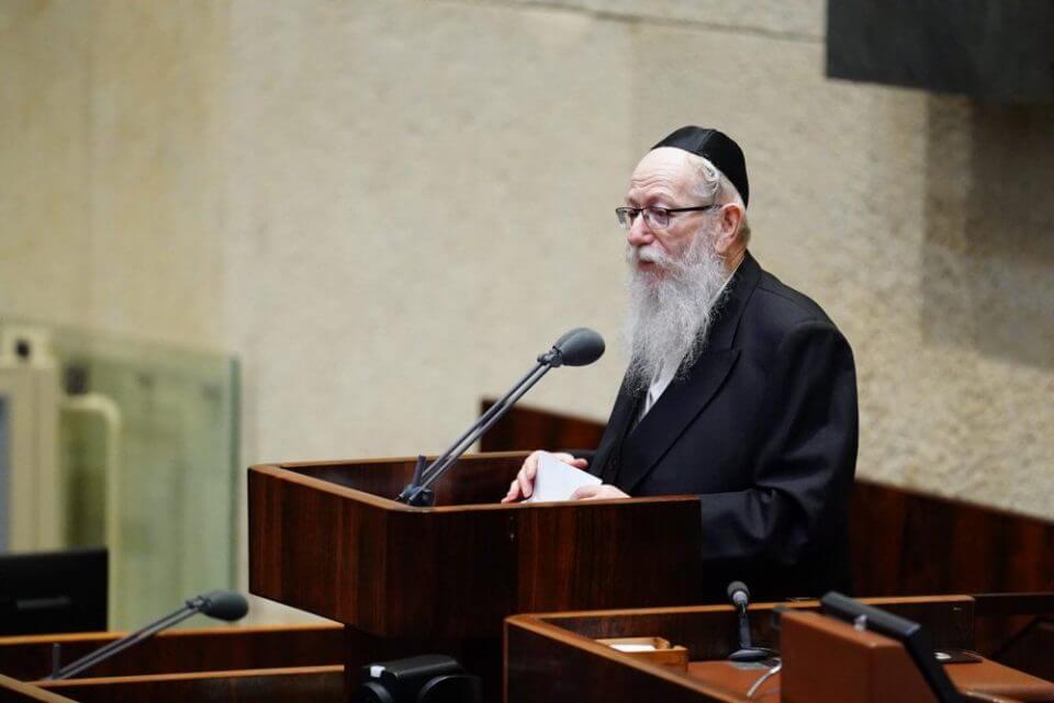 יעקב ליצמן (צילום: עדינה ולמן, דוברות הכנסת)