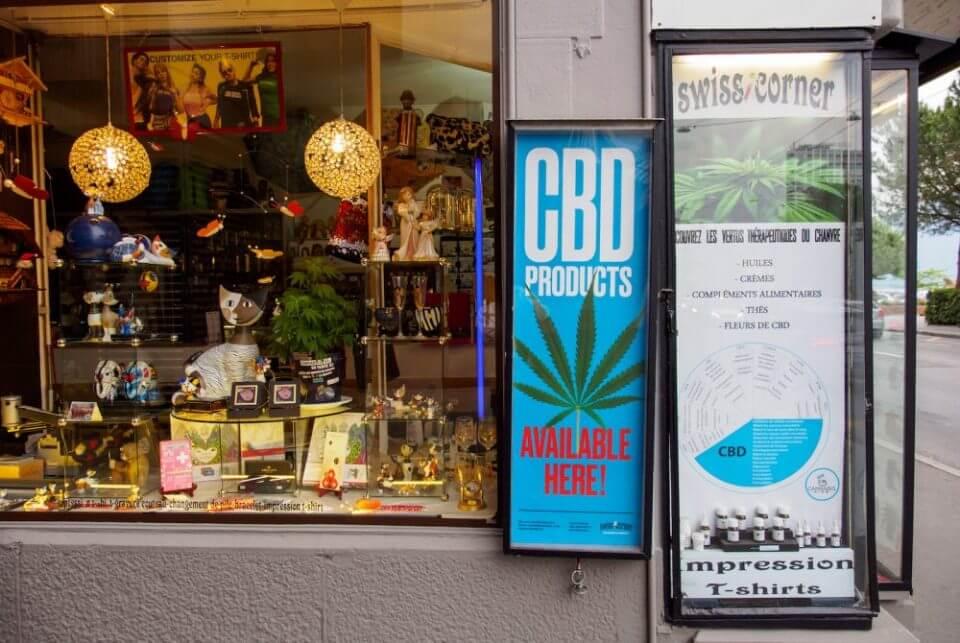 חנויות CBD חוקיות בשווייץ (תמונה: שאטרסטוק)