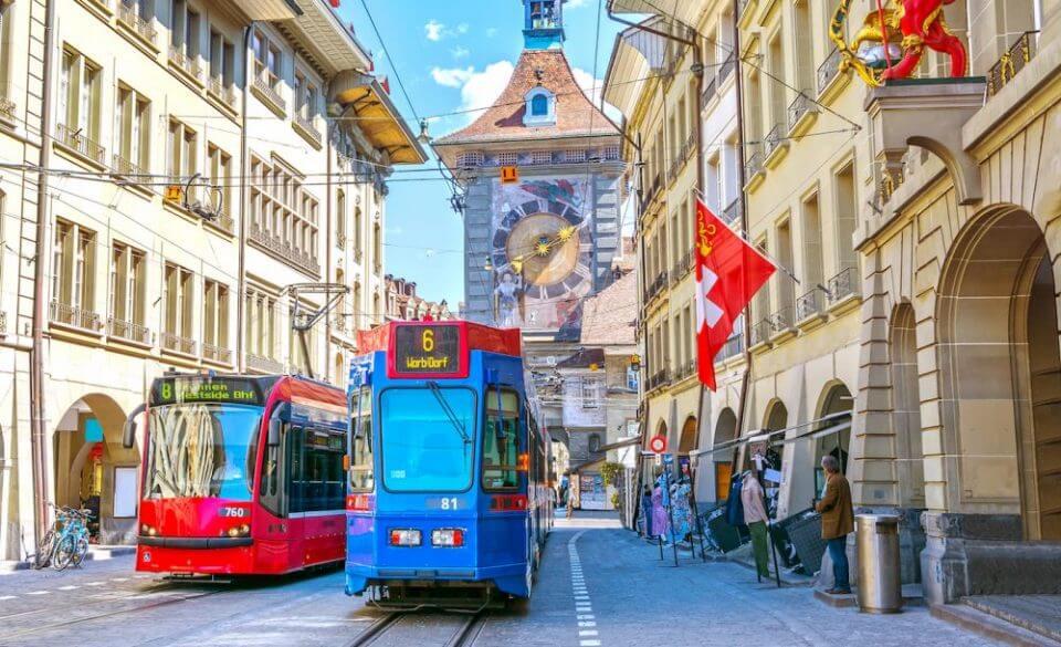 העיר ברן בשווייץ (תמונה: שאטרסטוק)