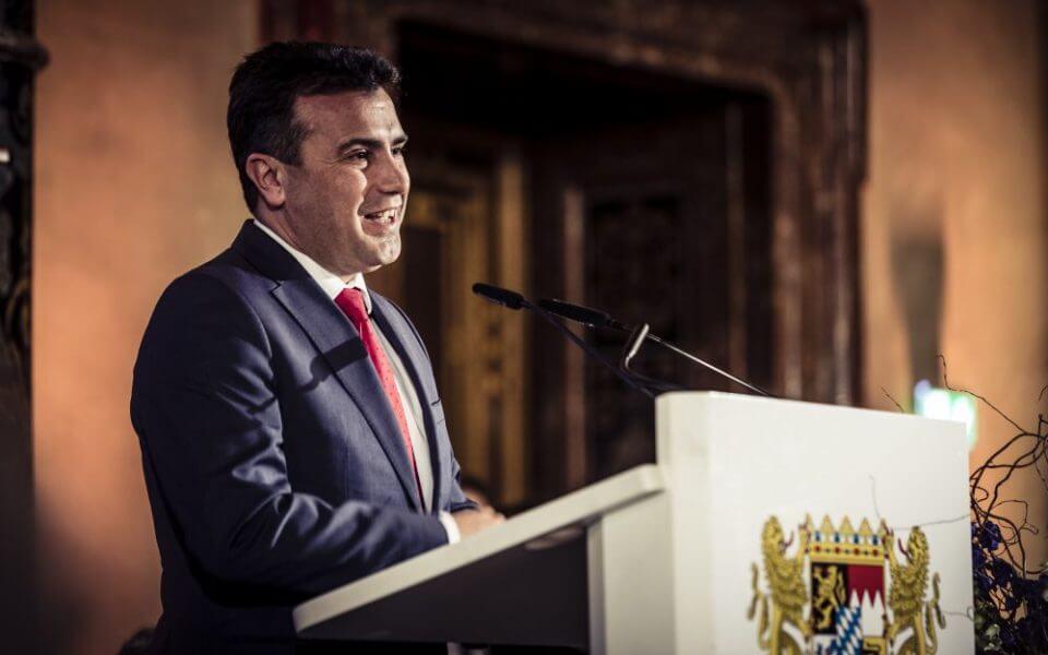 זוראן זאאב, ראש ממשלת מקדוניה