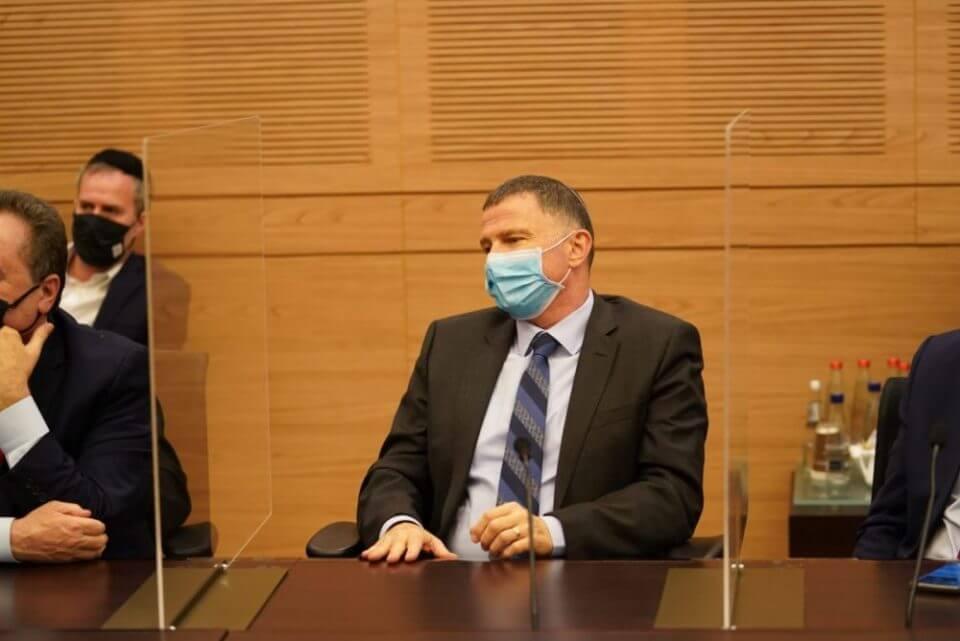 שר הבריאות יולי אדלשטיין (צילום: דוברות הכנסת)